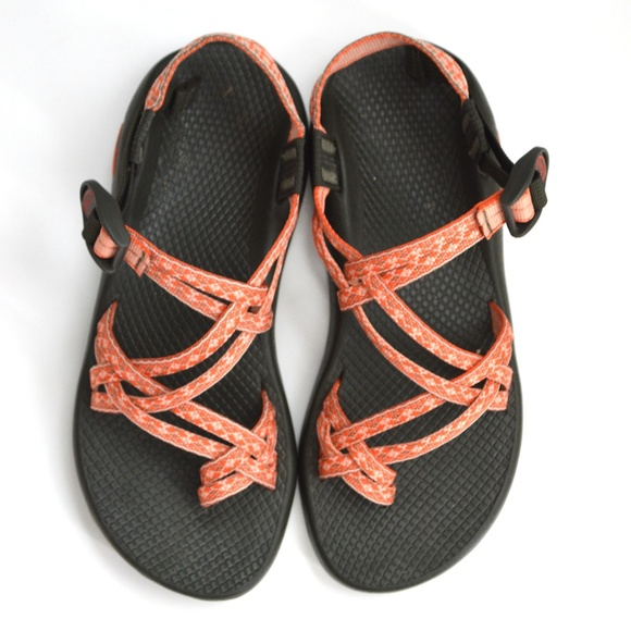 df3d7e4fa272 Chaco Shoes - Chaco ZX 2 Double Strap Sport Sandal Orange Coral